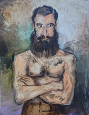 eason-eige_man_with_beard_and_tatoos_figure-series-II